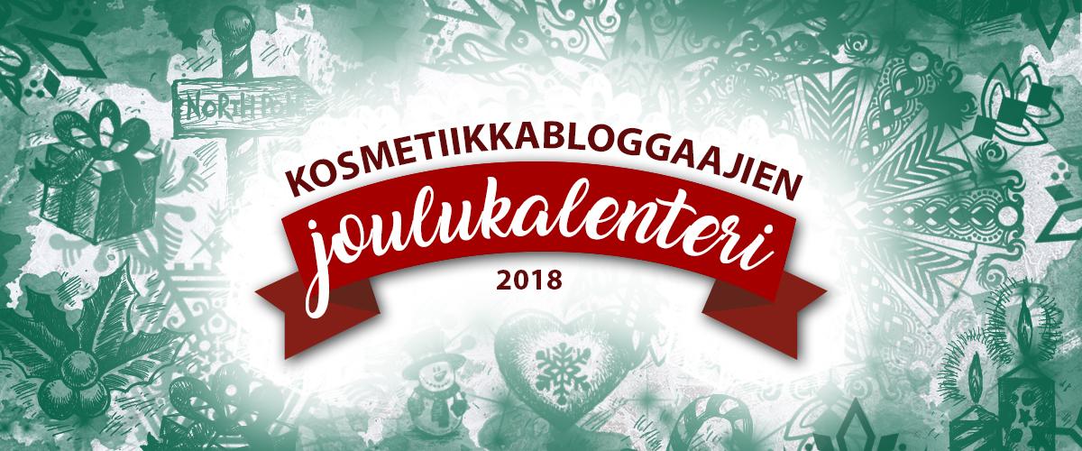 Kauneusbloggaajien joulukalenteri tulee taas!