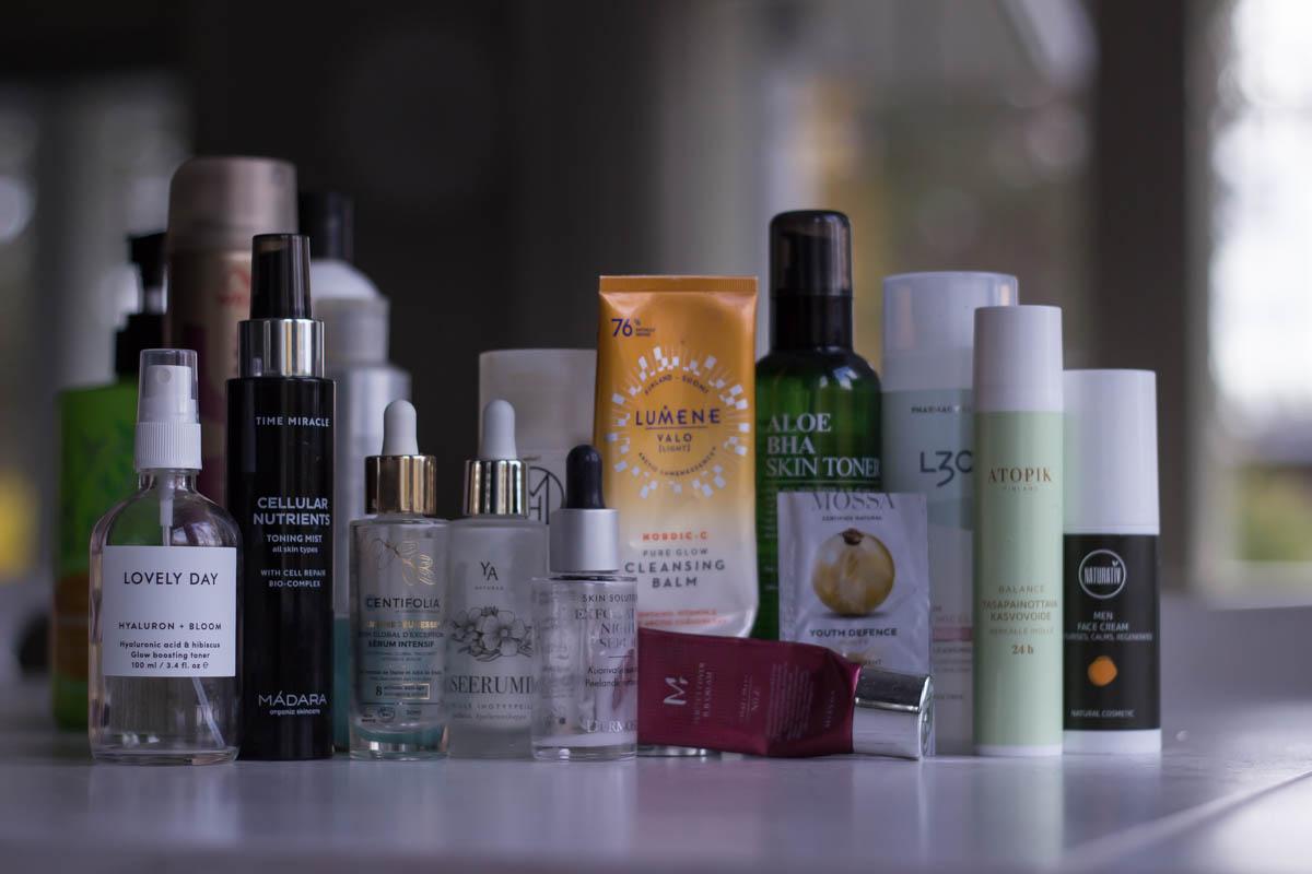 Syyskuussa tyhjentyneet kosmetiikkatuotteet