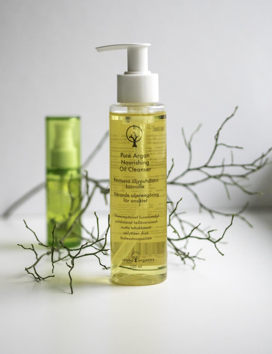 Okabo Organics – hellää ihonhoitoa arganöljyn voimalla