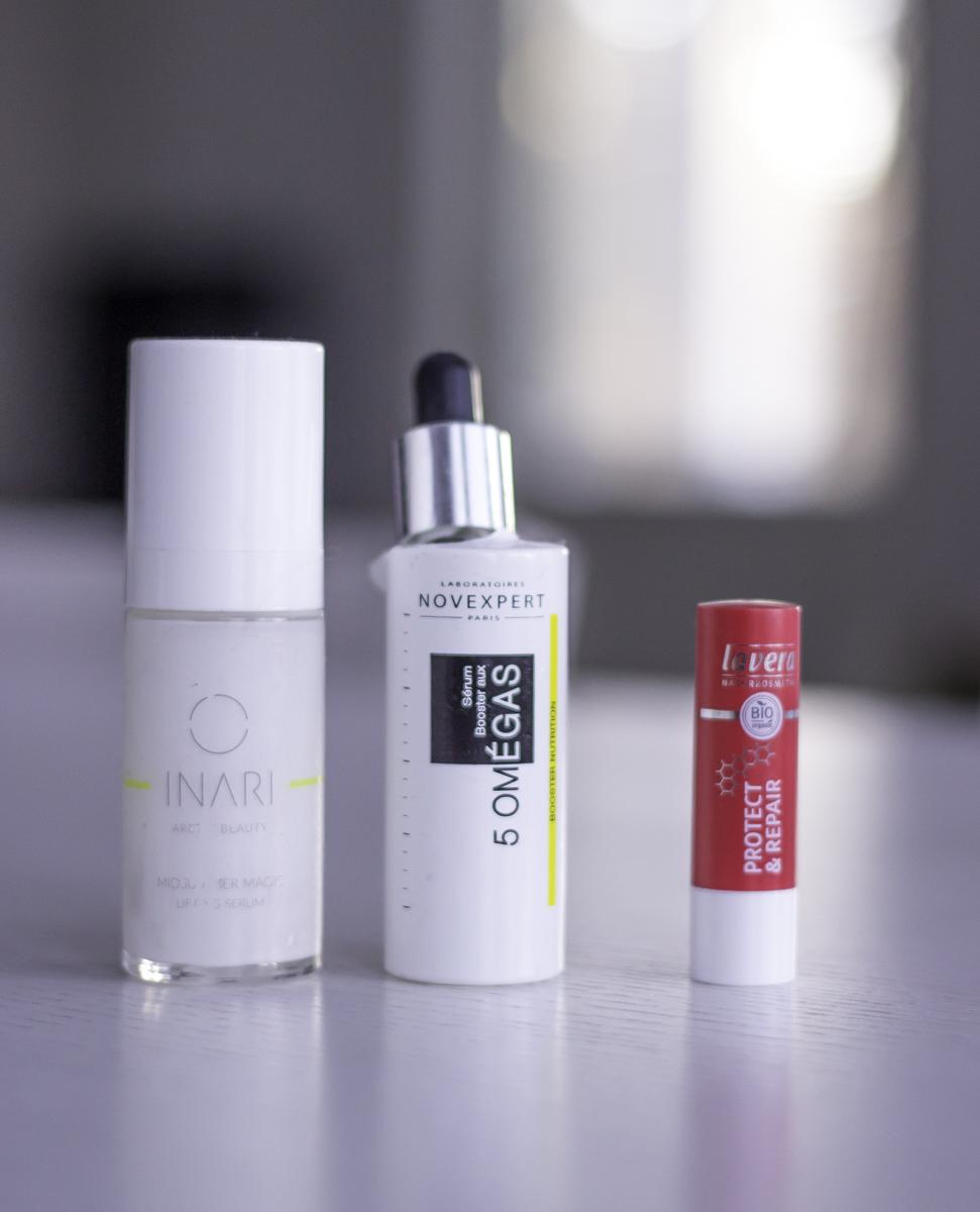 Tyhjentyneet kosmetiikkatuotteet: Lavera Protect & Repair